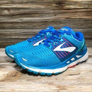Brooks Transcend 5 Blue Running Shoe Women 7.5
